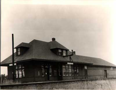 Thessalon Train Station, circa 1910