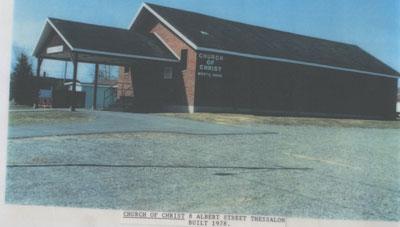 Church of Christ, Albert Street, Thessalon, circa 1980