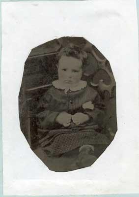 Tin-type photo of Charles Deacon, circa 1910