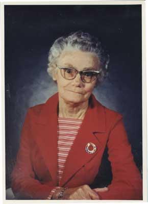 Portrait of Mrs. Alma Whitfield, 1980