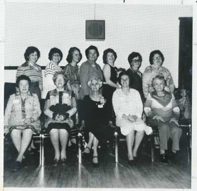 Sunnyside Women's Institute, 50th Anniversary, 1979