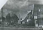 Main St Fire, Town Hall, May 1963