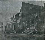 Main St Fire, Town Hall, Thessalon, 1963