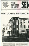 "Newspaper Clipping, ""Sinton Hotel Fire"", 1985"