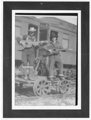 Fred Showan and Alphons Delair, circa 1920