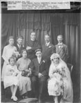 Chalut and Charlebois Wedding, October 2, 1922