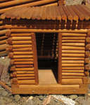 Logging Camp Sauna Replica (Created by Joe Briere)