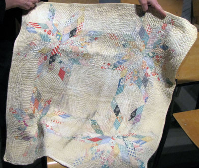 Quilted (Baby - Carriage) Blanket (by Annie Jones)