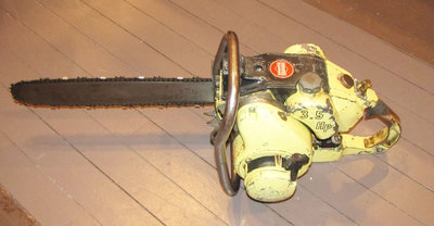 Trams Chainsaw