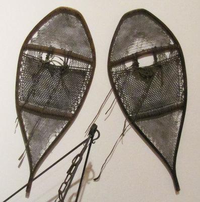 Huron (Beavertail) Style Snowshoes