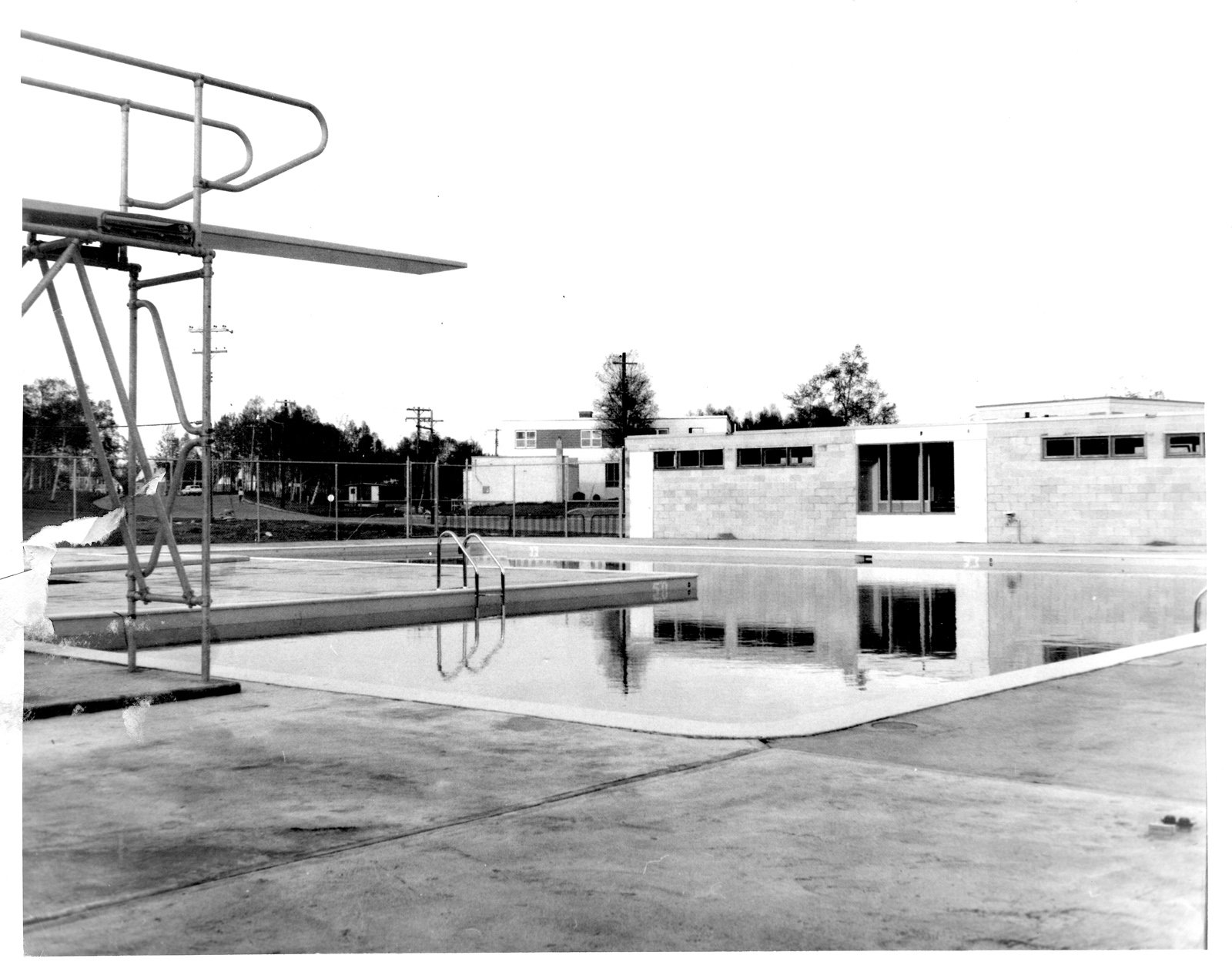 Public Swimming Pool In Terrace Bay From 1963 Terrace Bay Public Library Digital Collections