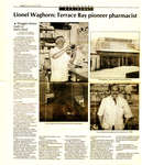 Pioneer Pharmacist Lionel Waghorn Newspaper Article