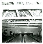 Lanes and Pins at the Bowling Alley at South Camp