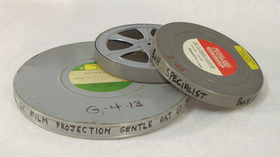 Film Reels on Film Projection