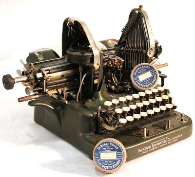 Oliver Typewriter with Typewriter Ribbons