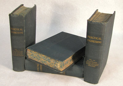 Practical Engineering Textbooks Volumes 1 to 4 from Early 1900s