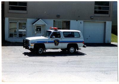 Terrace Bay Police Truck