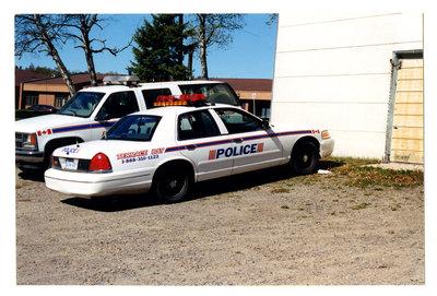 Terrace Bay Police Car