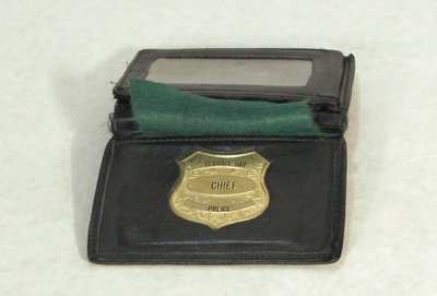 Chief of Police Badge, Terrace Bay Police