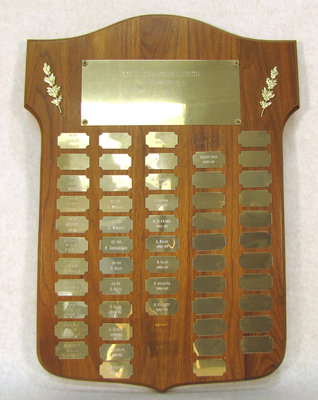 Darts Plaque