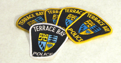 Terrace Bay Police Crests, Part of Police Uniform