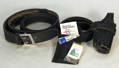 Terrace Bay Police Utility Belt (or Duty Belt)