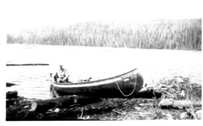 History Pictures of One of the First Residents in Terrace Bay
