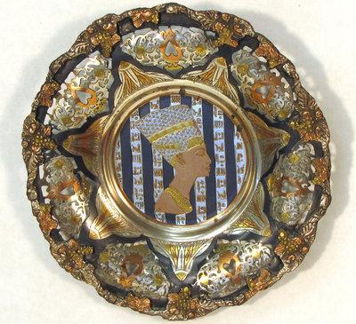 Egyptian Art Plate