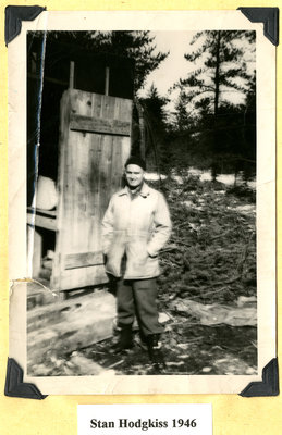 Stan Hodgkiss in 1946