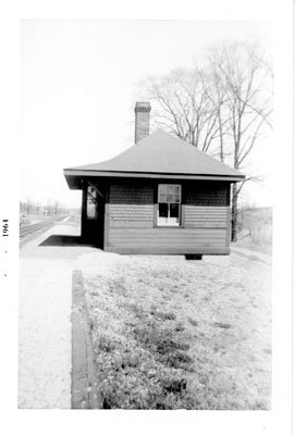 Sulphide CPR Railroad Station