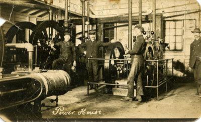 Powerhouse Sulphide Mine Postcard