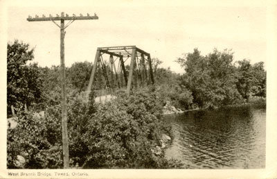 West Branch Bridge, Tweed, Ontario