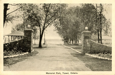 Memorial Park, Tweed, Ontario