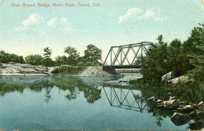 West Branch Bridge, Moira River, Tweed, Ontario