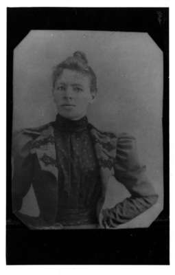 Hattie Gordon, ca.1890's.  Cavendish, P.E.I.