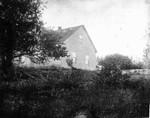 Old home (Alexander MacNeill's) - taken inside dyke, ca.1890's. Cavendish, P.E.I.