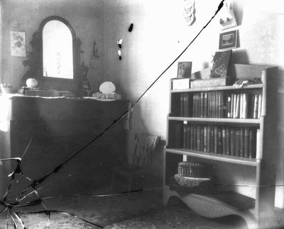 Lucy Maud Montgomery's room downstairs, ca.1900's.  Cavendish, P.E.I.
