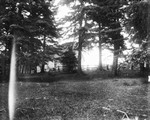 View of school from Downie Woods, ca.1897.  Cavendish, P.E.I.