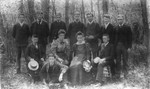3rd year students, ca.1893-95.  Charlottetown, P.E.I.