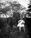 Grandmother MacNeill holding Edith MacNeill, with Uncle Leander & Murray MacNeill, ca.1900.  Cavendish, P.E.I.