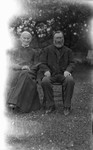 Ewan Macdonald's parents, sometime before Nov. 1914.  Bellevue? P.E.I.