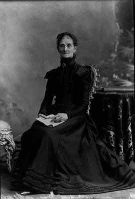 Lucy Maud Montgomery's grandmother - Lucy MacNeill - who raised Lucy Maud Montgomery as child in Cavendish, ca.1870's.