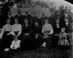 Charles Macneill family group, ca. 1870's.  P.E.I.