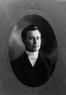 Reverend Ewan Macdonald, ca.1900.  Cavendish, P.E.I.