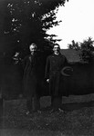 Ewan Macdonald & Rev. Edwin Smith, ca.1920's.  Leaskdale, ON.