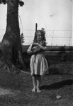 Lorraine Webb as child, ca.1920's.  Cavendish, P.E.I.