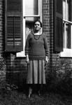 Myrtle Webb, ca.1936.  Norval, ON.