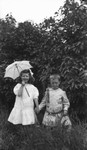 Donald Campbell & Alice Ramsey, ca.1890's.  Park Corner, P.E.I.