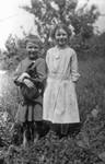 Donald Campbell & Alice Ramsey, ca.1900.  Park Corner, P.E.I.