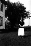 Miss McVicar, ca.1918.  Leaskdale, ON.